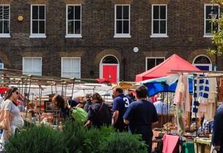 Tour of Bermondsey Antiques Market