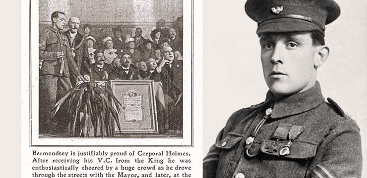 Fred Holmes VC – Exhibition of Press Cuttings