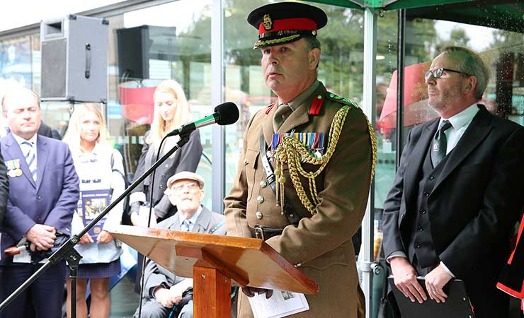 Bermondsey Victoria Cross Commemoration 2014