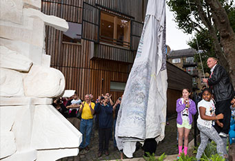 Community Sculpture Unveiled
