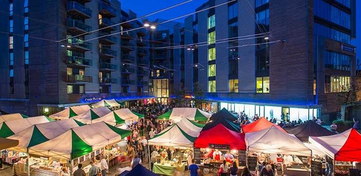Bermondsey Christmas Market 2014
