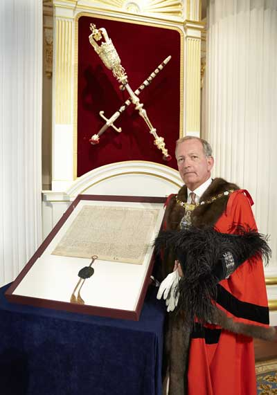 Alan Yarrow Lord Mayor Elect