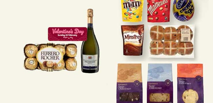 Valentine's and Easter Treats at Sainsbury's Local