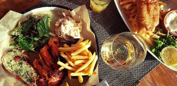 Lobster Lunch in Bermondsey