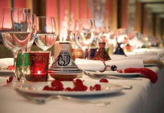 Book a Mediterranean Christmas Party in Bermondsey