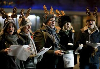 Christmas Choir in the Square