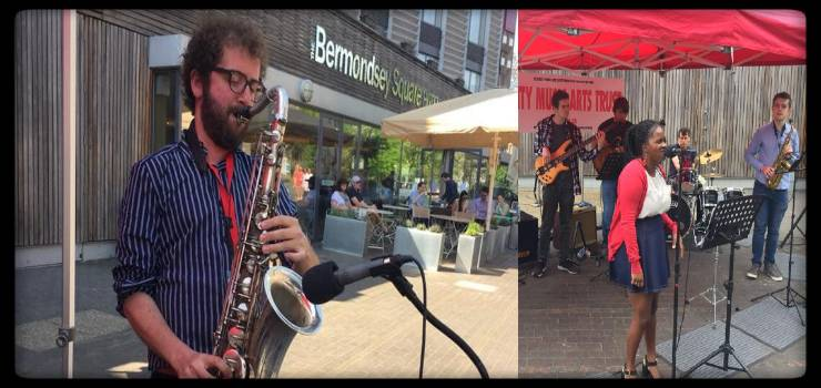 Free Jazz Sundays in the Square